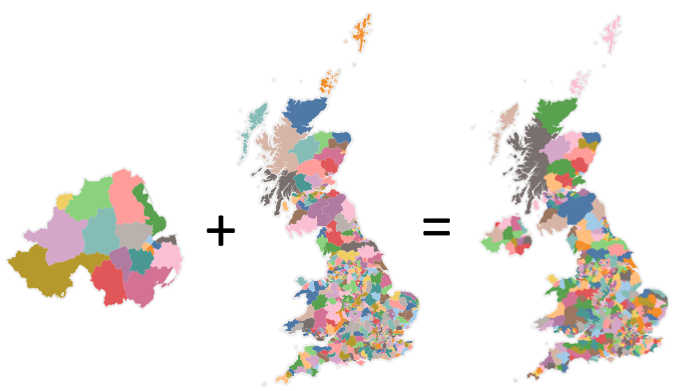 Merging Two Polygon Maps In Tableau | POINTS OF VIZ